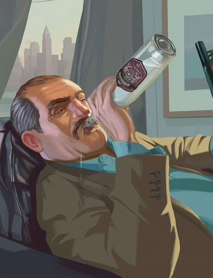 Grand Theft Auto IV Art & Pictures, Vladimir Glebov | Video
