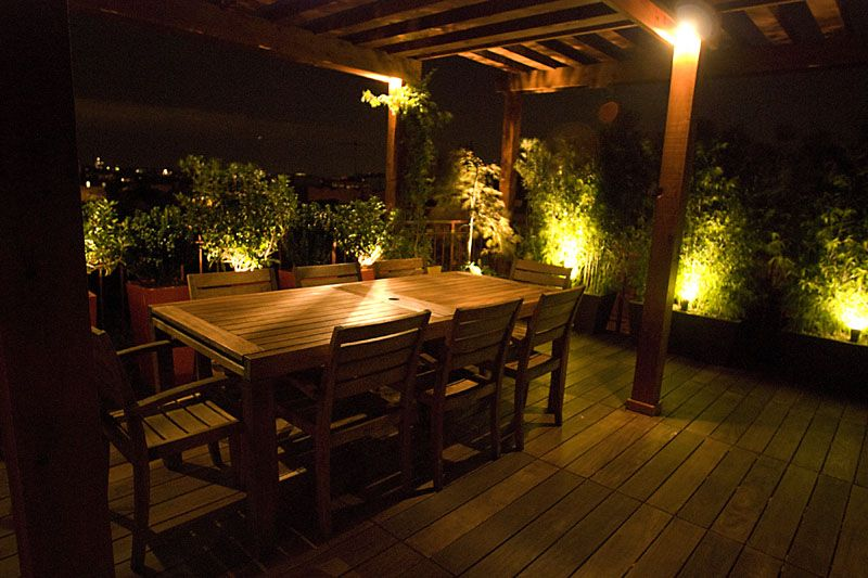 blondies patio lighting rooftop consulting pinterest patio
