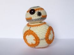 Amigurumi Star Wars Patterns : Star wars bb 8 crochet pattern crochet pinterest bb crochet