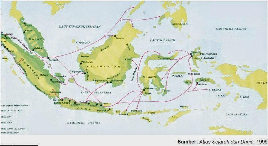 Gambar Peta Penyebaran Islam Indonesia Http Bit Ly 2dktpc1 Pemandangan Pemandangan Indah Pemandangan Alam Sejarah Gambar Gambar Lucu