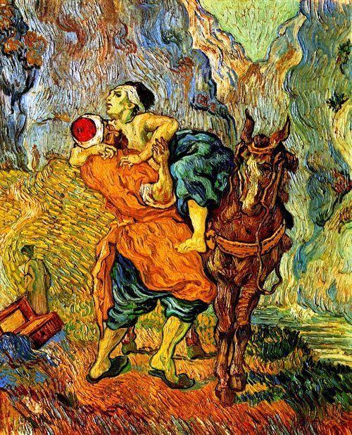 he Good Samaritan (after Delacroix)  Vincent Van Gogh