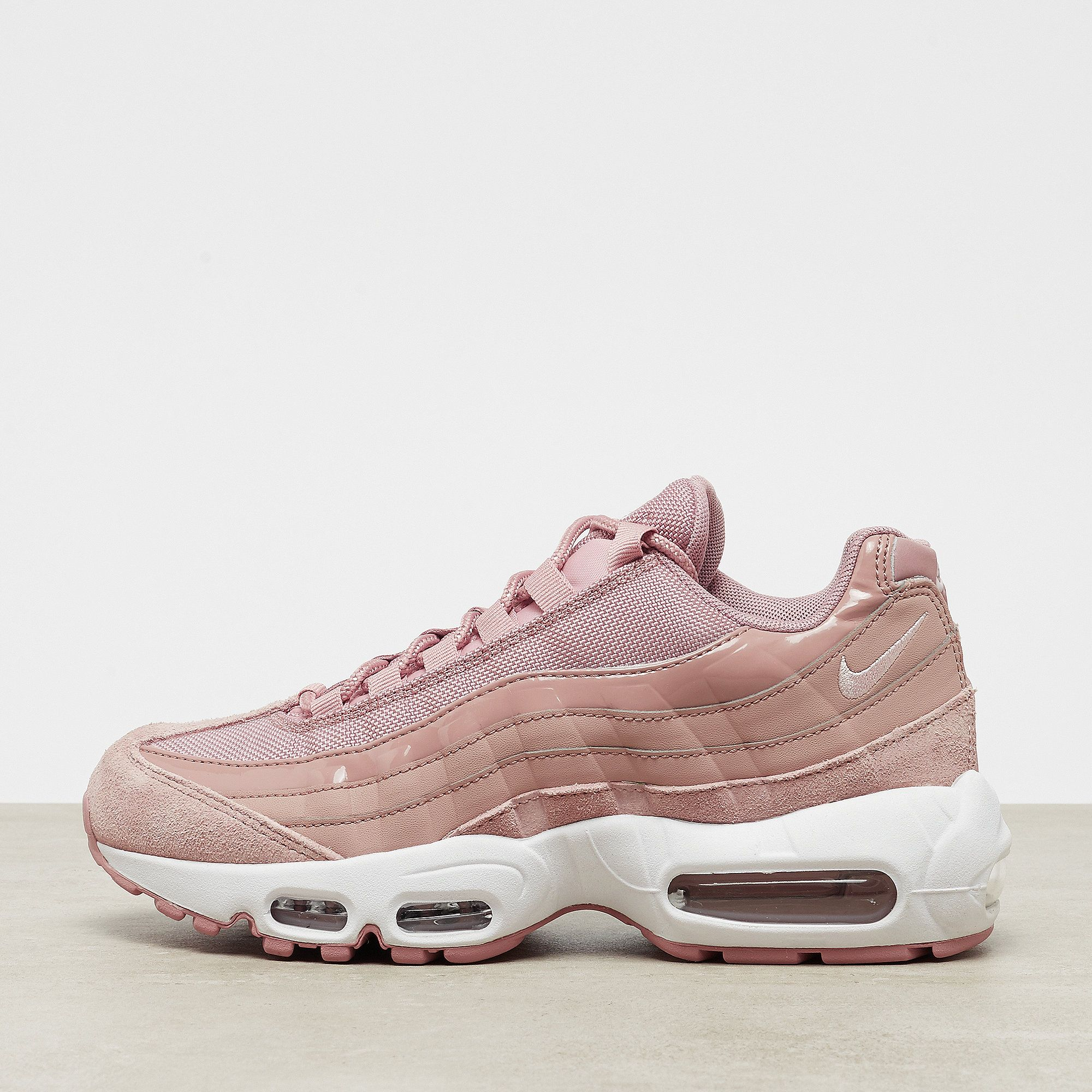 huge discount 2efc1 68e24 NIKE Air Max 95 particle pink silt red white