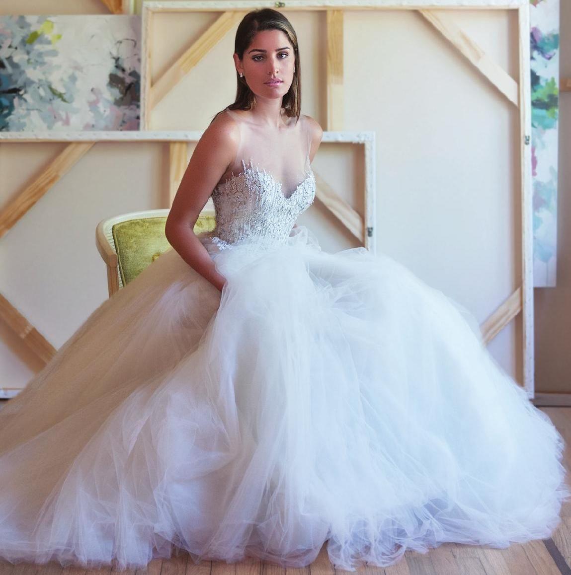 The Knot Spring 2016 Wedding dresses, One shoulder