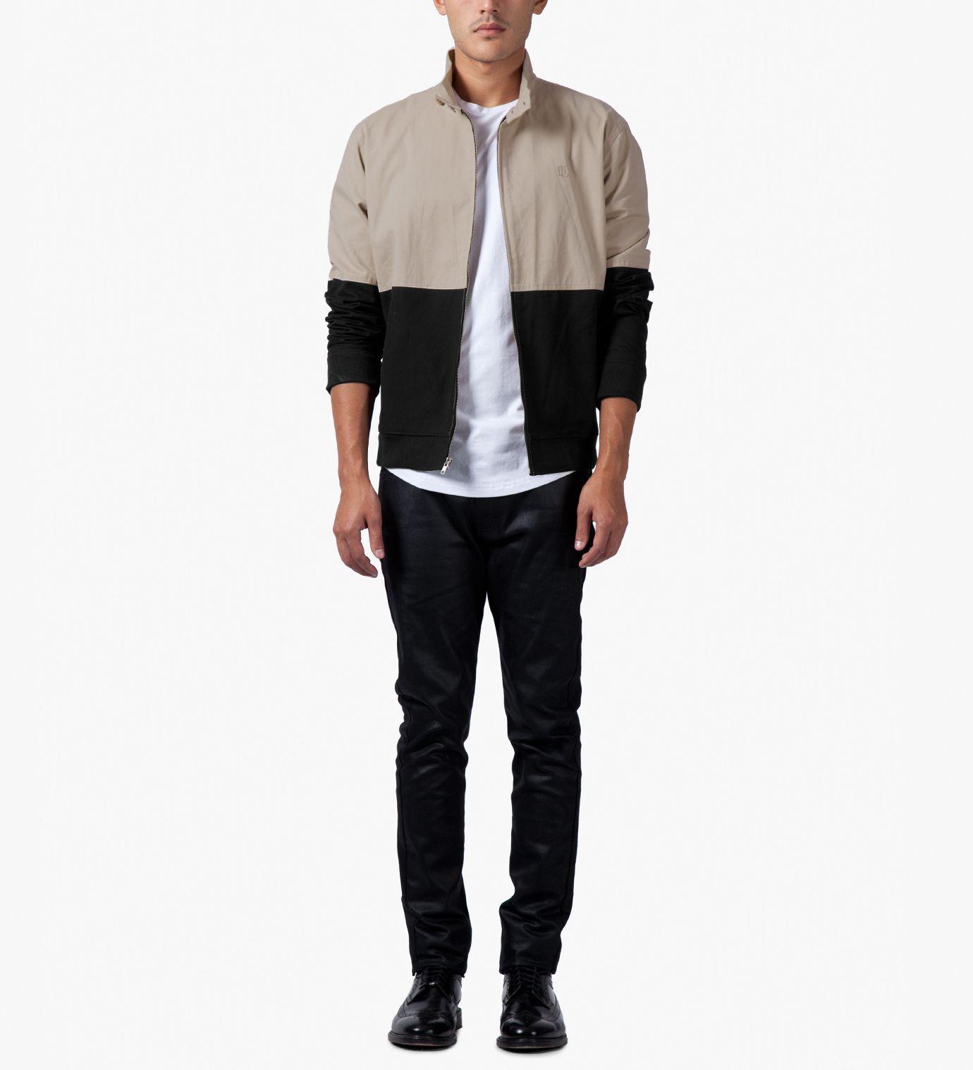 Tan/Black Harrington Coach Jacket