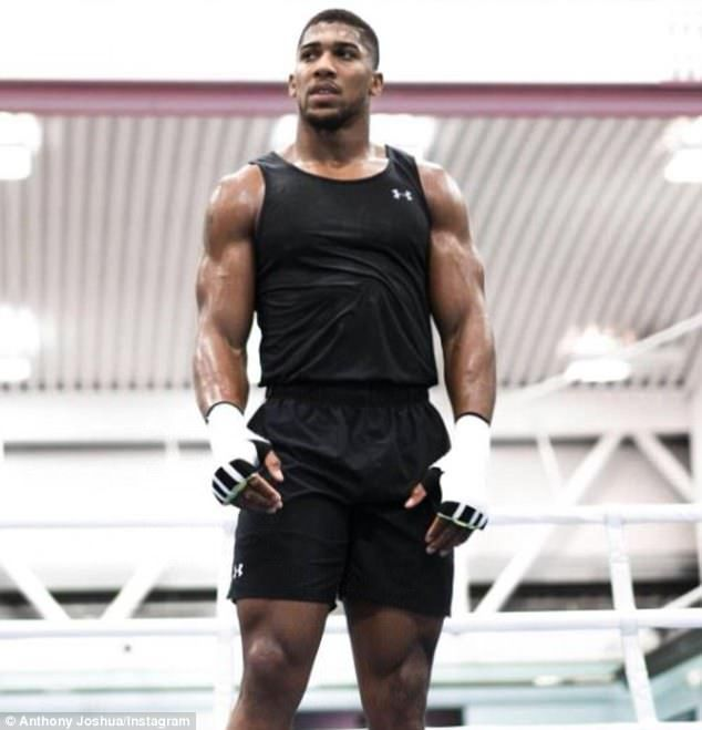 Anthony Joshua Looks In Peak Condition Ahead Of Kubrat