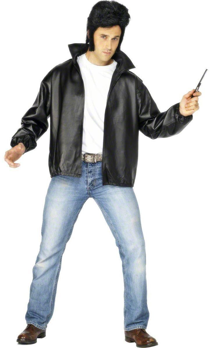 b6ae764b4af7eb 50er Jahre Rock'n'Roll Lederimitat Jacke schwarz , günstige Faschings  Kostüme bei Karneval Megastore, der größte Karneval und Faschings Kostüm-  und ...