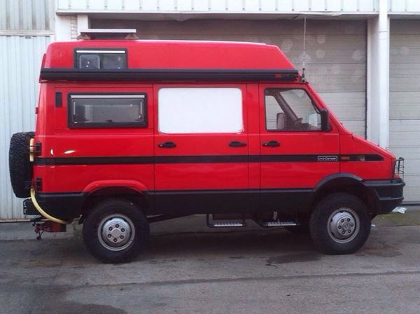 iveco daily 4x4 by uro camper 4x4 vans. Black Bedroom Furniture Sets. Home Design Ideas