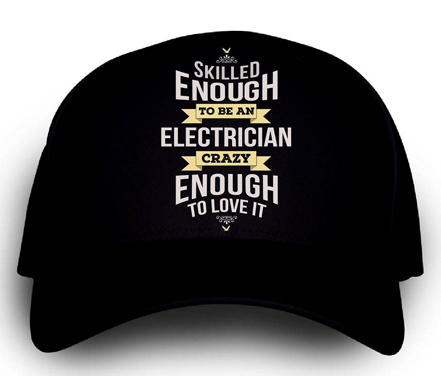 Personalized Gift For A Crazy Electrician Cap Check Out The Image By Visiting The Link Personalized Gifts Electrician Personalised