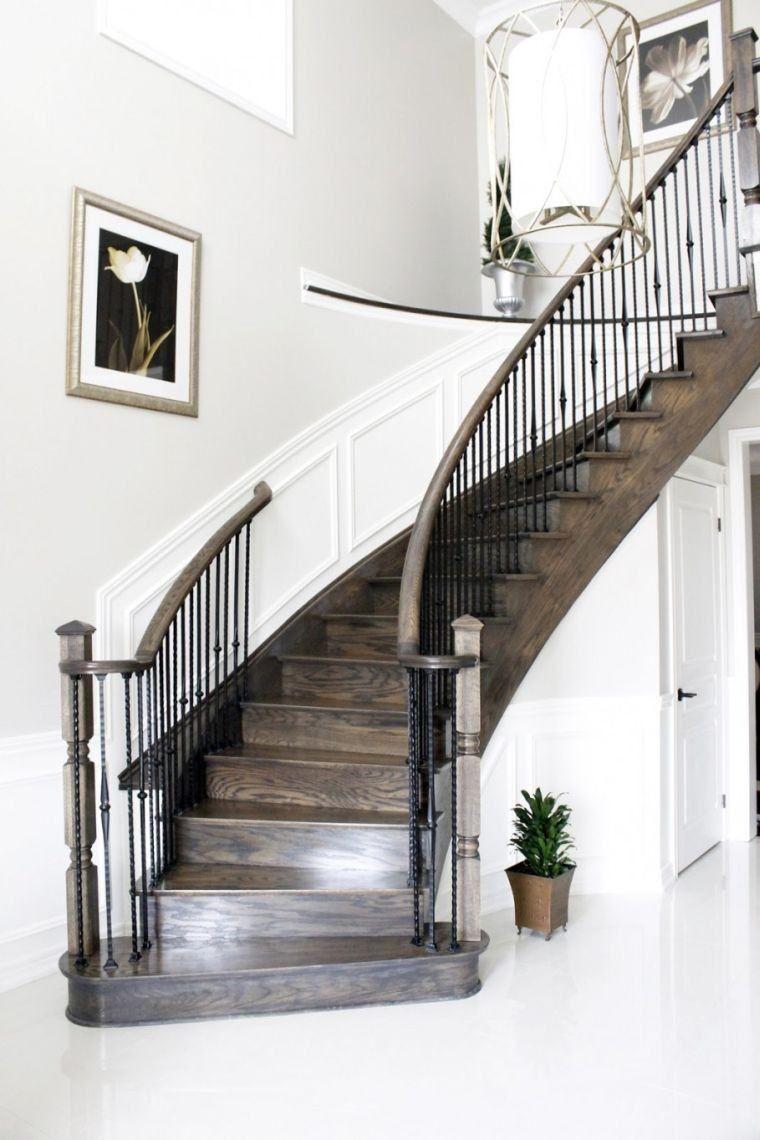 d co cage escalier 50 int rieurs modernes et contemporains d co maison pinterest. Black Bedroom Furniture Sets. Home Design Ideas