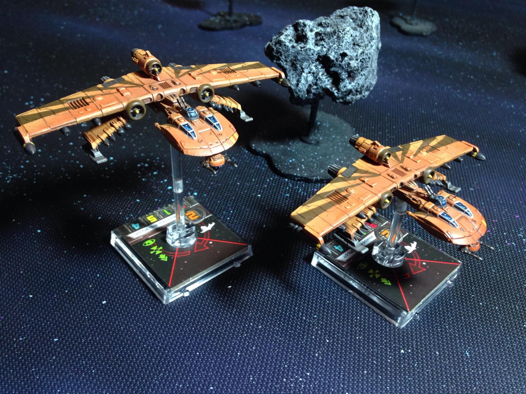 Star Wars Awesome X Wing Miniatures X Wing