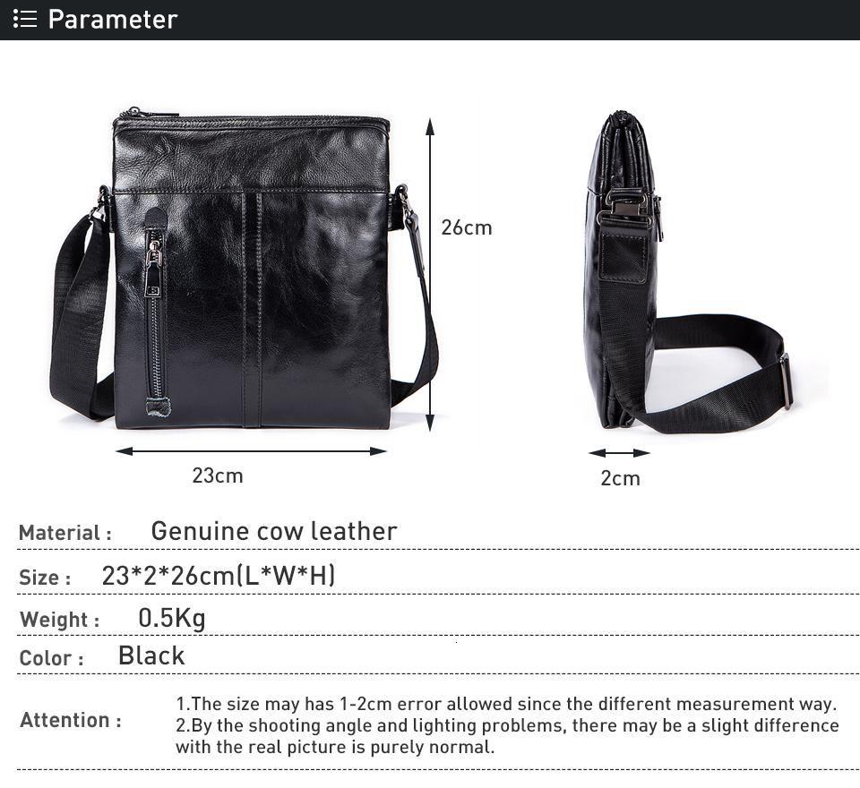 Mens Leather Messenger Bag Shoulder Bag 100% Genuine