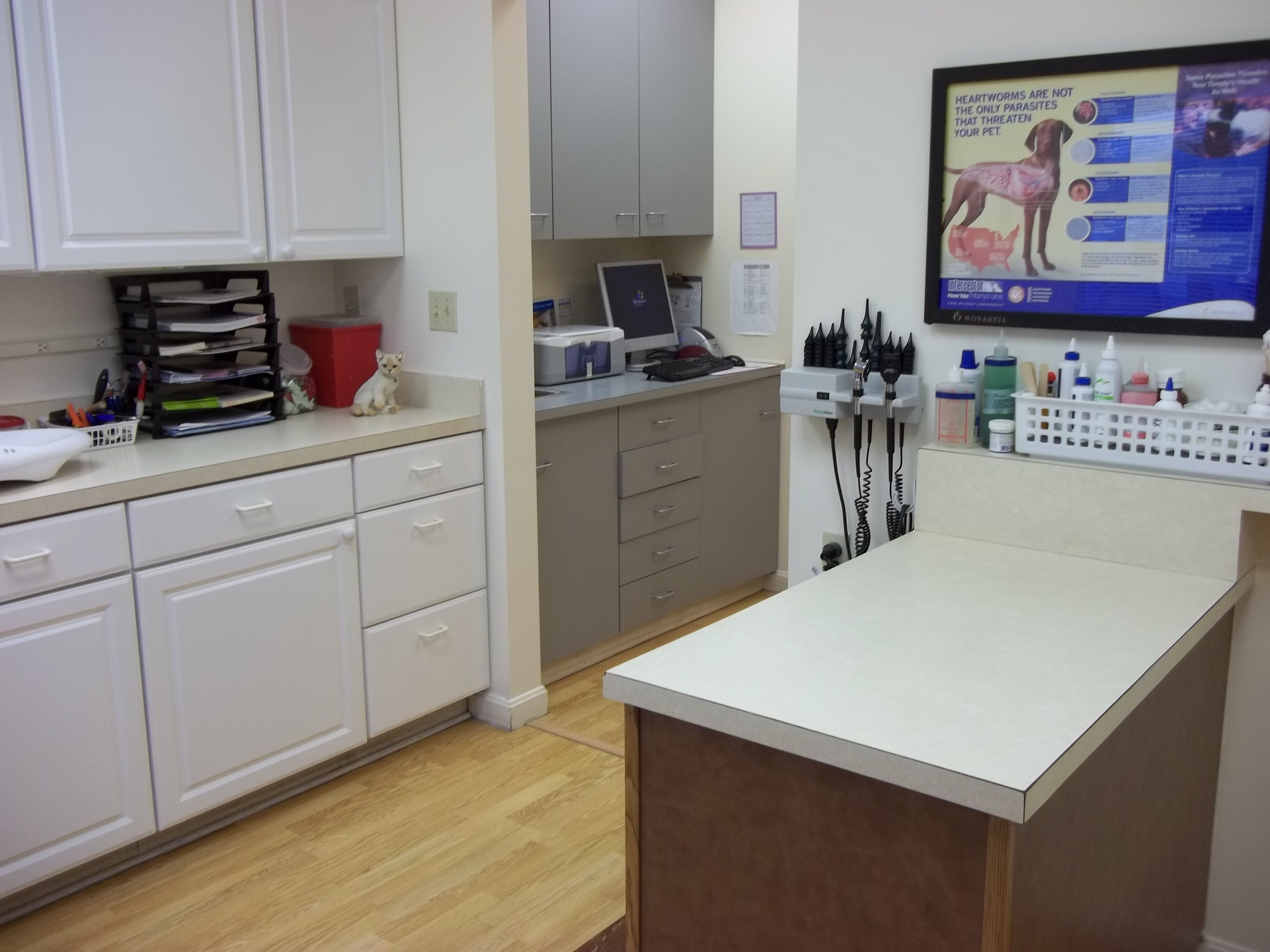 Exam Room 1 pethealth Portage Animal Clinic (PAC