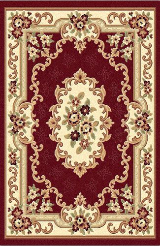 792red Detail Jpg 325 500 Dollhouse Rug Rugs On Carpet Miniature Crafts