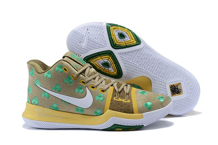"Boston Celtics Nike Kyrie 3 ""Luck"" PE"