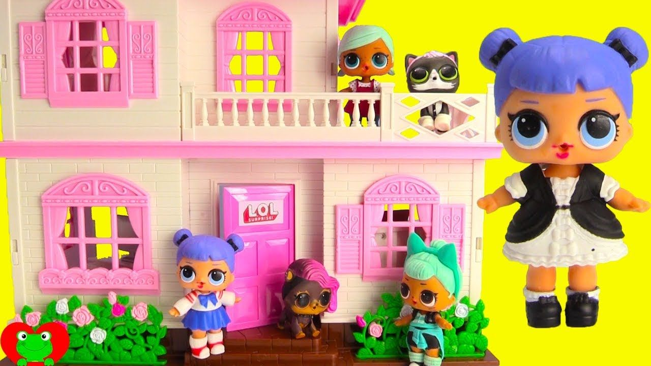 New Lol Surprise Doll House With Dolls And Lol Surprise Pets Toy Video Dolls Lol Dolls Doll House