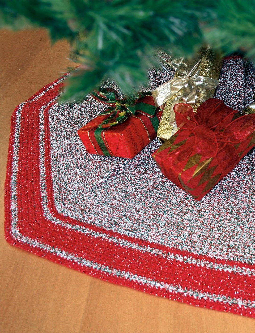 Crochet Tree Skirt - Level: Easy -PLEASE NOTE: Click on the green ...