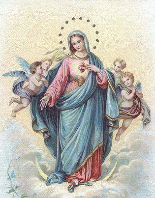 El Corazón de María Inmaculada.