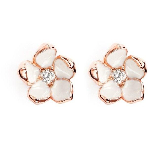 Shaun Leane Cherry Blossom diamond earrings - Metallic xhong