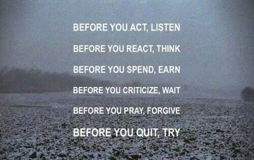 Before you....