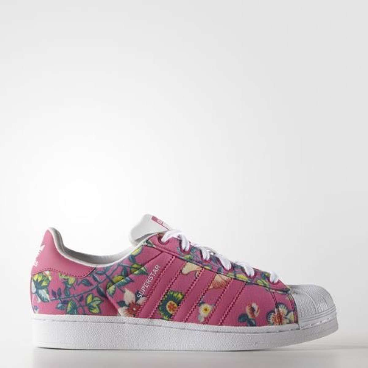 New Balance Adidas Superstar Ii Frauen Schmetterlinge Blumen