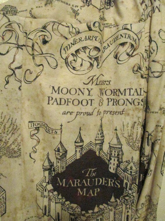 Harry mappa sciarpa Potter Malandrino... Sciarpa