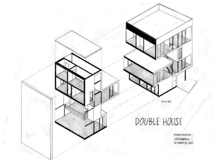 MVRDV Double House Utrecht, duplex, modern architecture