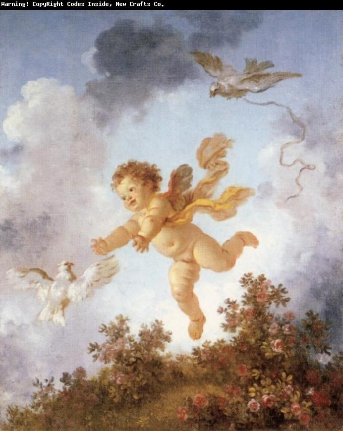 Fragonard  (I have a grandson this rotund and more).