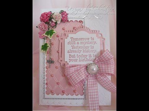 Spellbinders anemone flower + cards - Google Search