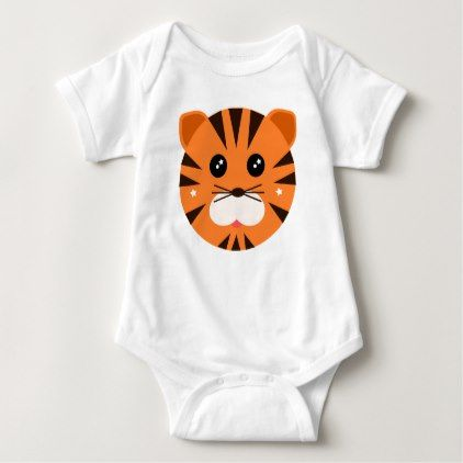 #cute #baby #bodysuits - #Lil Tiger Baby Bodysuit Top Kids Shirt