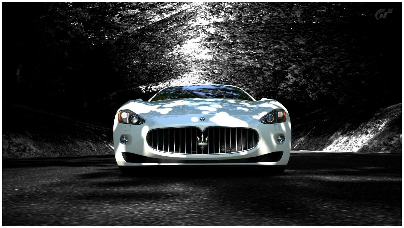 New Maserati Granturismo Hd Car Wallpaper Hd Walls Maserati Granturismo Maserati White Maserati