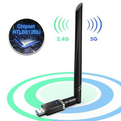 Details about EDUP AC1300Mbps USB 3.0 Wifi Adapter Dual