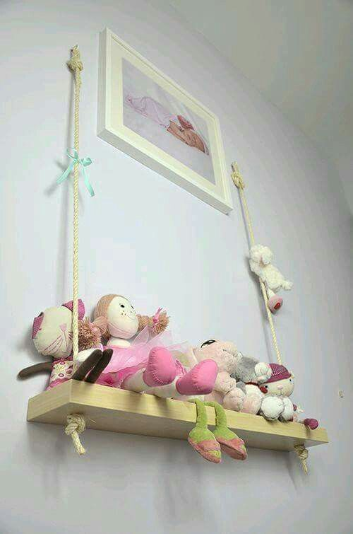 for a little girls room diy swing shelf rope swing to hang from painter tree mural