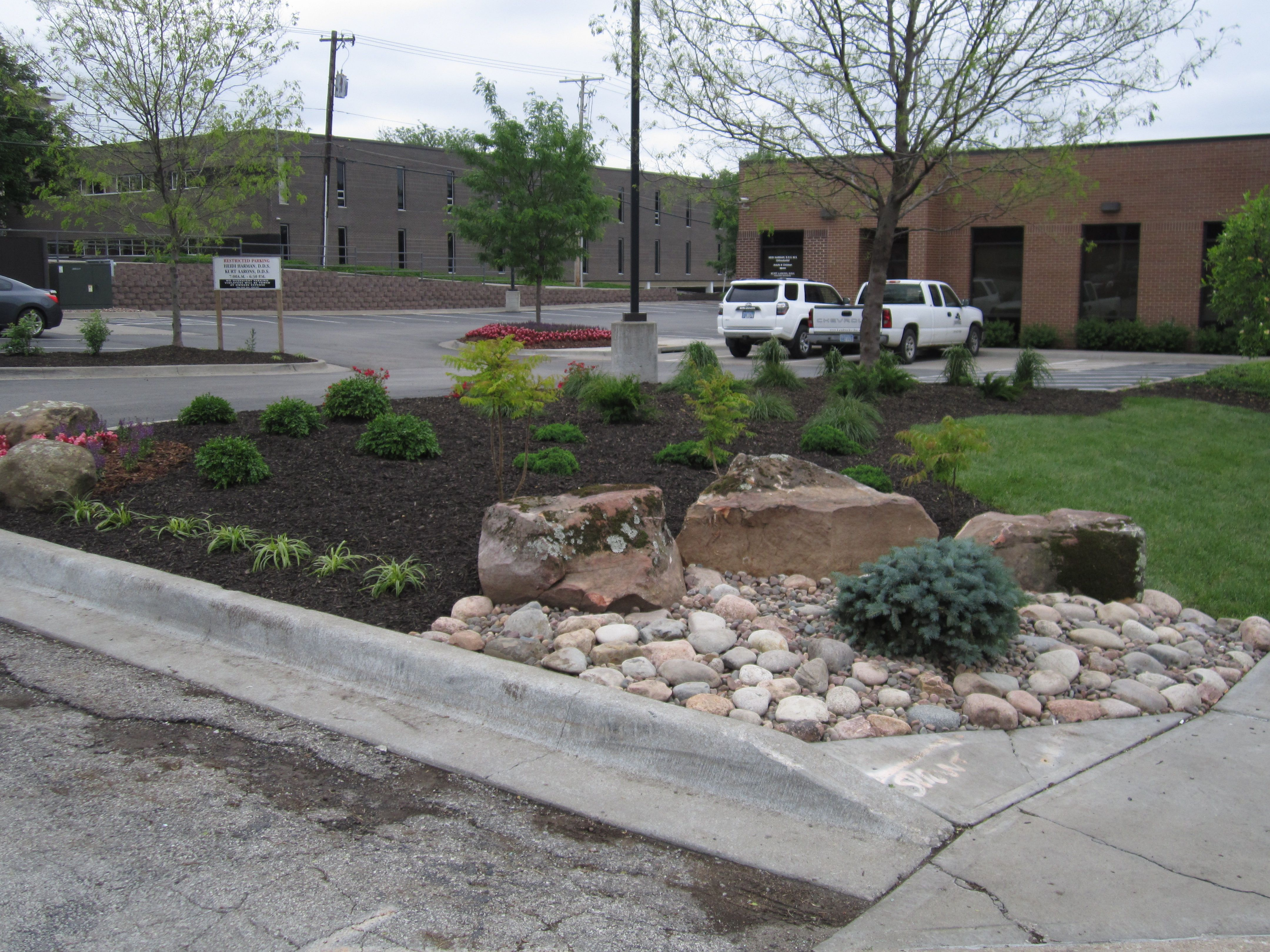 Landscaping Commercial Property Renovation Lawn Care Companies Lawn Care Landscape