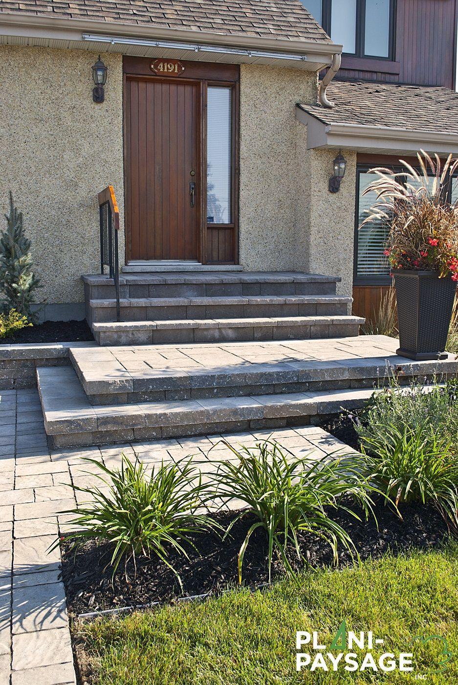 deco jardin facade maison