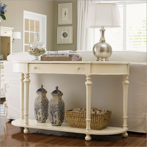 Sofa Table Ideas: How A Sofa Table Can Help You Stage A Room