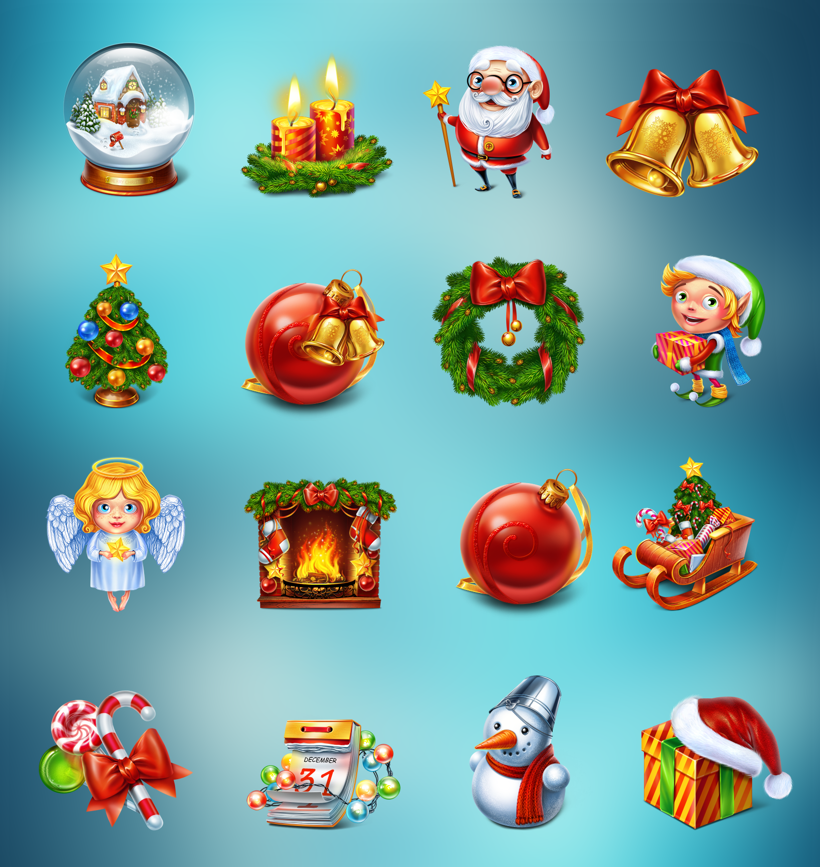 New Years Symbols New Years Icons Symbols Icons And Game Ui