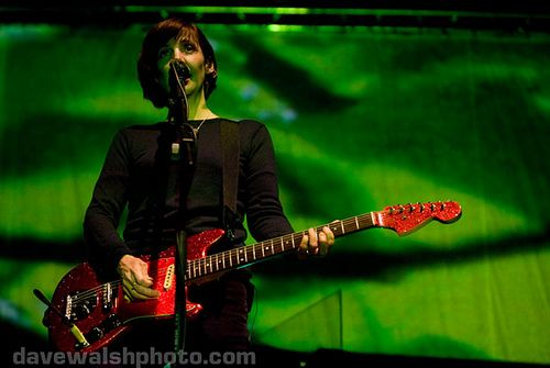 Bilinda Butcher of My Bloody Valentine at Electric Picnic 2008 by Dave Walsh Photography, via Flickr