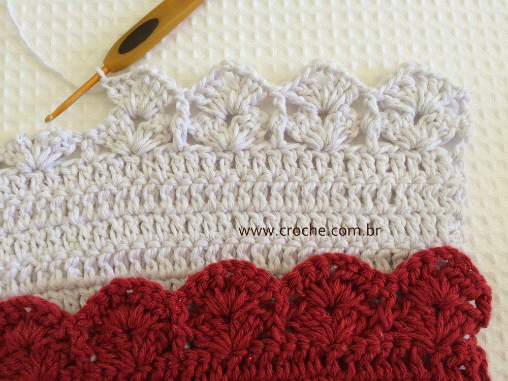 1cd387ef9ca Jogo de banheiro oval bico duplo – Tapete do vaso 2   Crochet ...