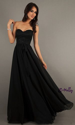 Long black evening dresses ebay