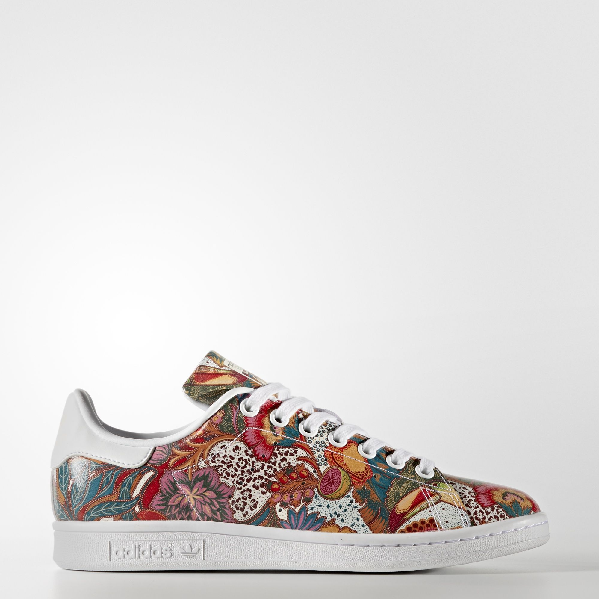 "The adidas Stan Smith ""Flowerbomb"" by FRE Customs is"
