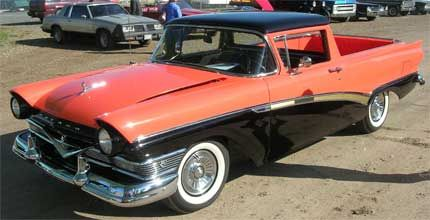1957 Ford Ranchero Crazy Bout A Mercury As The Song Lyric Implies Is Natural