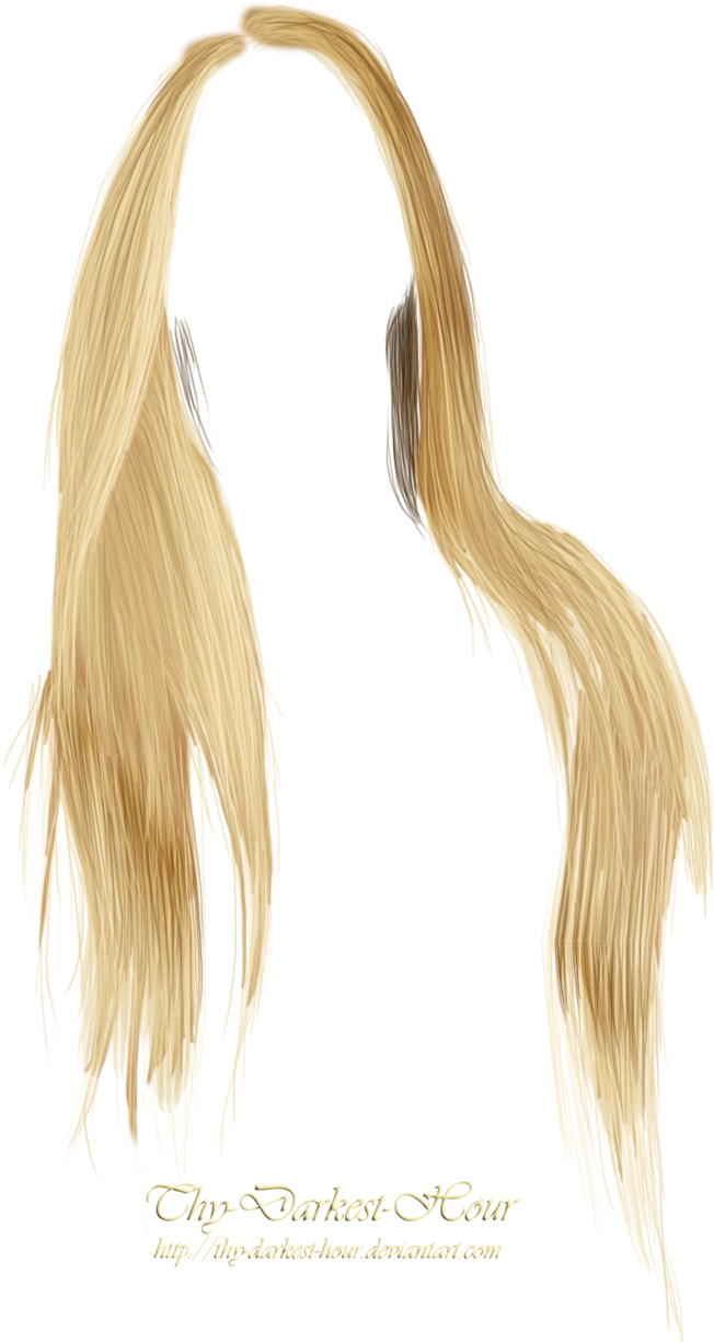 Blonde Hair Png In 2020 Hair Png Photoshop Hair Blonde Hair Girl