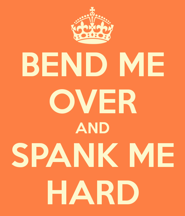 Spank me adult sexual content