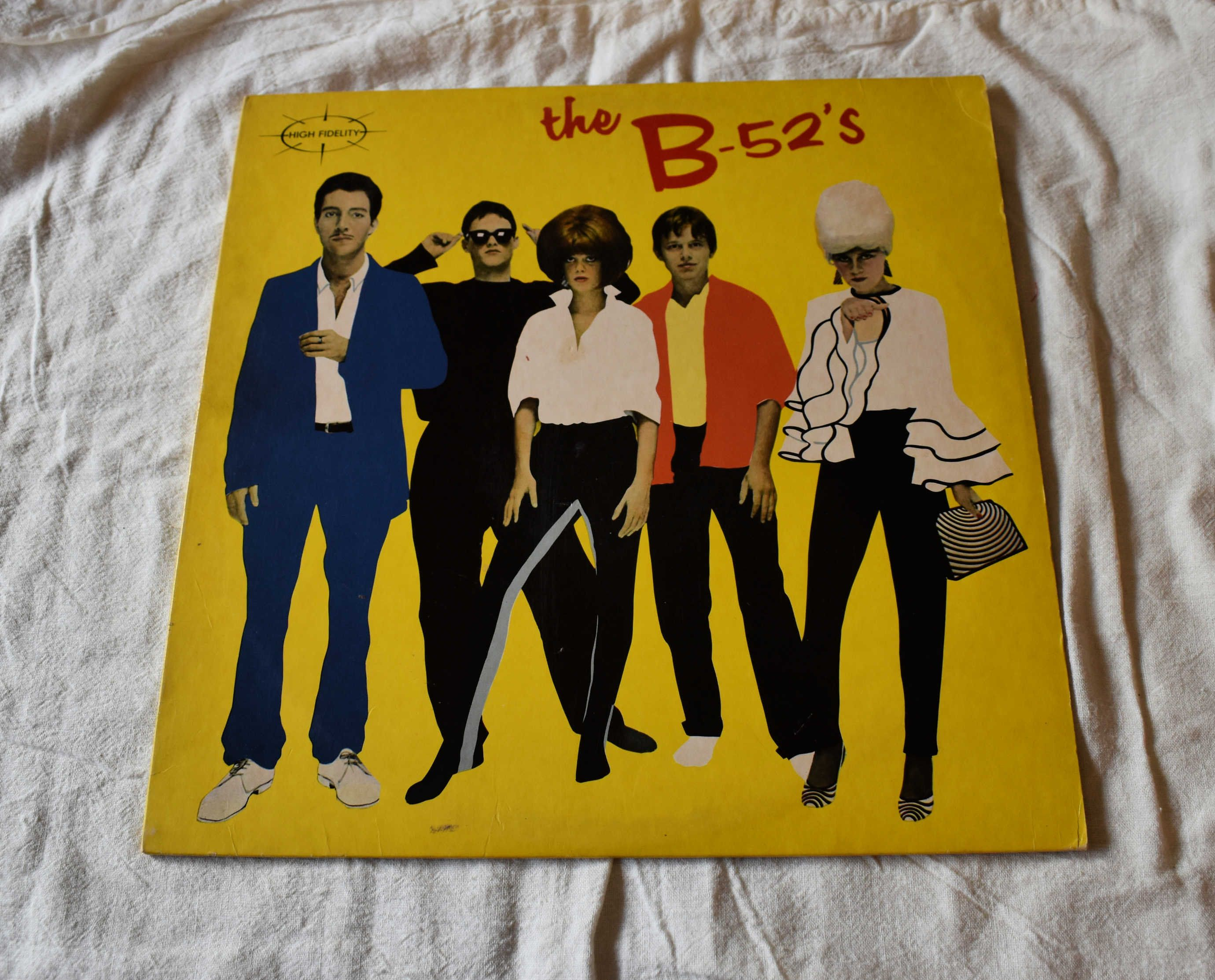 Vintage Vinyl 1970s New Wave The B 52 S Self Titled Etsy Vinyl The B 52 S Album Covers
