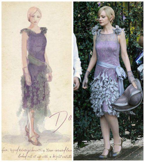 Custom Made Lavender Lace Dress (Daisy Buchanan) by ...  Custom Made Lav...