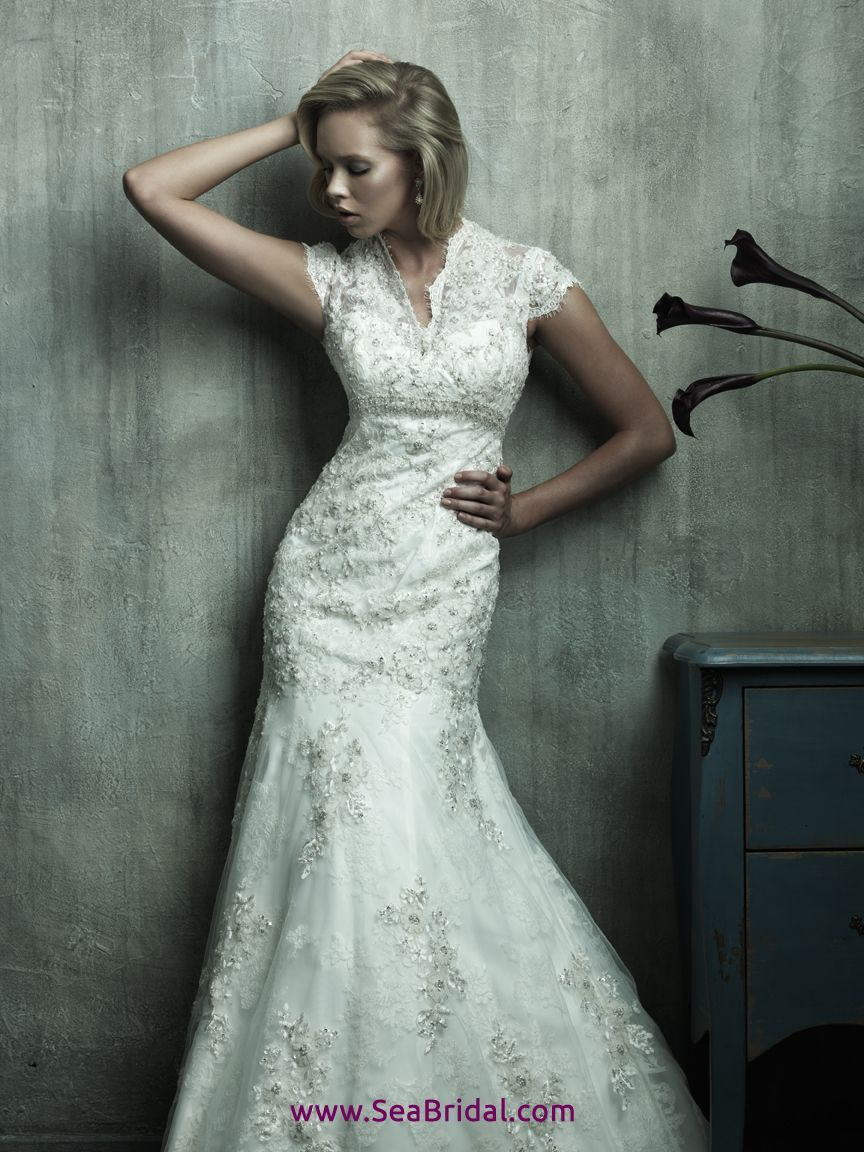 Mermaid tail wedding dress  Allure Bridal Gowns   Sale Allure C Here Buy Cheap Allure