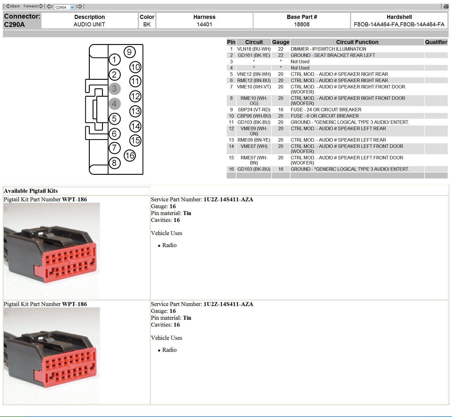 Free Ford Ranger Wiring Diagrams