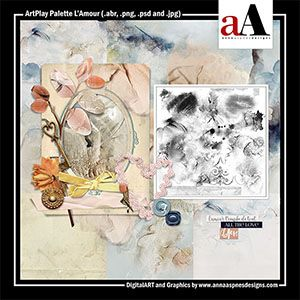 ArtPlay Palette L'Amour Released 10 February 2017 by #annaaspnes of #aA designs #annaaspnes #digitalart #digitalartist #digitalartistry #digitalcollage #collage #digitalphotography #photocollage #art #design #artjournaling #digital #digital #scrapbooking #digitalscrapbooking #scrapbook #modernart #memorykeeping #photoshop #photoshopelements