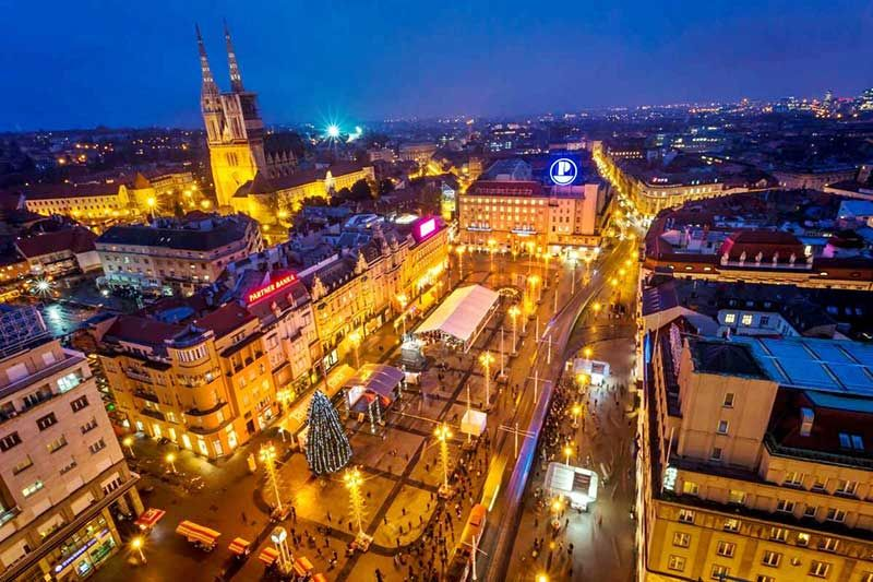 Advent In Zagreb Croatie Voyage Croatie Voyage Italie