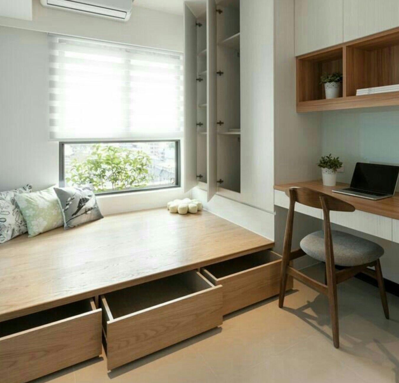 AuBergewohnlich Einzimmerwohnung, Wohnung Möbel, Kleine Wohnung,  Schlafzimmer, Kinderzimmer, Architektur, Schlafzimmer